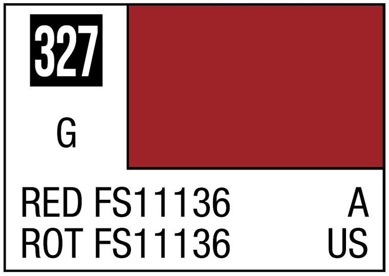 Mr. Color 327 Gloss Red FS11136 10ml, GSI