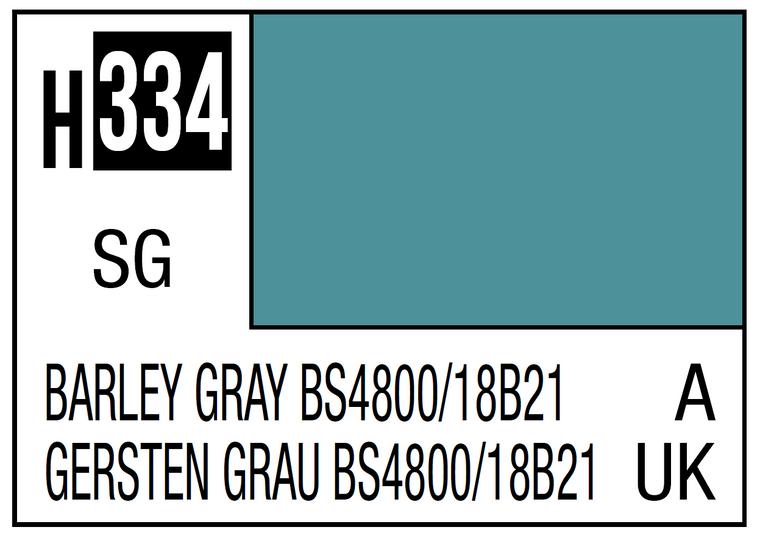 Mr. Color 334 Semi Gloss Barley Gray BS4800 18B21 10ml, GSI