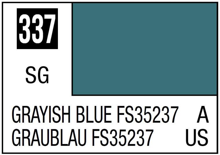 Mr. Color 337 Semi Gloss Grayish Blue FS35237 10ml, GSI
