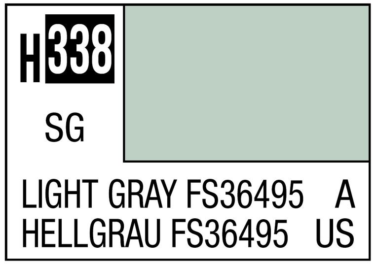 Mr. Color 338 Semi Gloss Light Gray FS36495 10ml, GSI