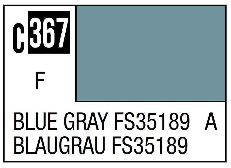 Mr. Color 367 Blue Gray FS35189 GSI