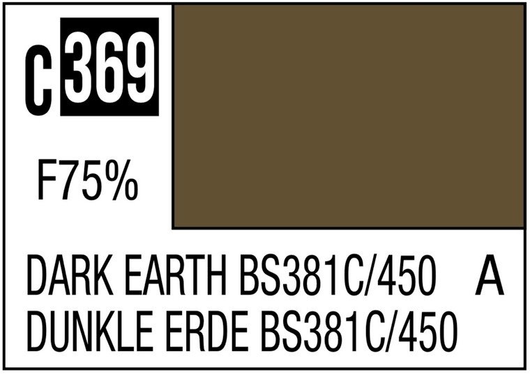 Mr. Color 369 Dark Earth BS381C / 450