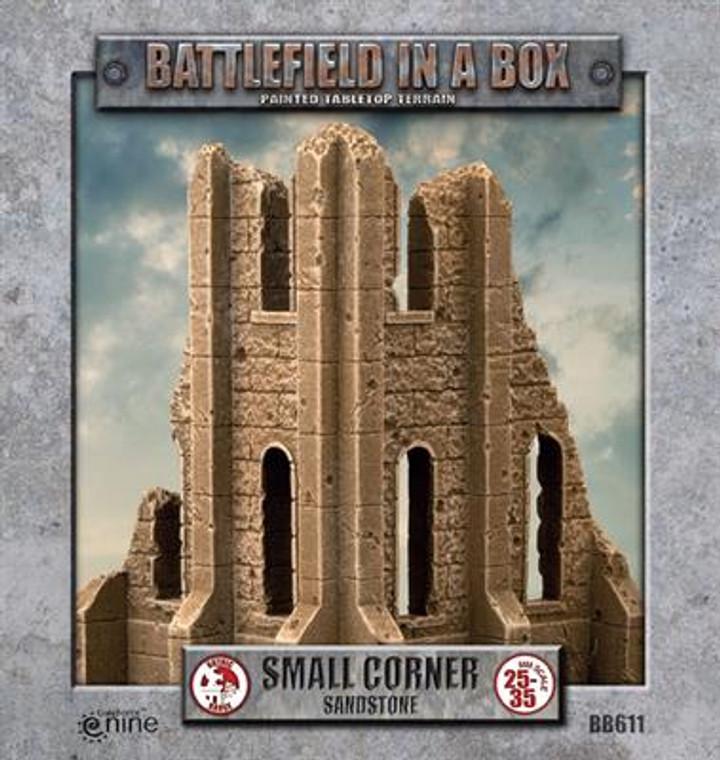BB611 Gothic Battlefields - Small Corner - Sandstone