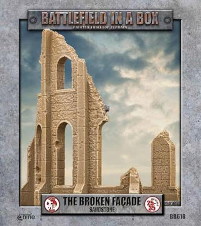 BB618 Gothic Battlefields - Broken Facade - Sandstone