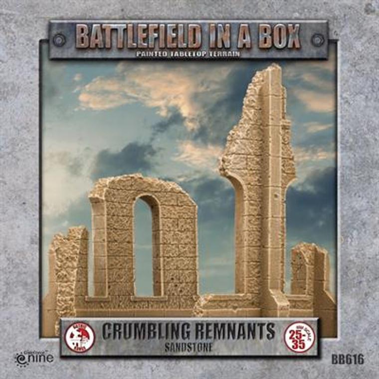 BB616 Gothic Battlefields - Crumbling Remnants - Sandstone