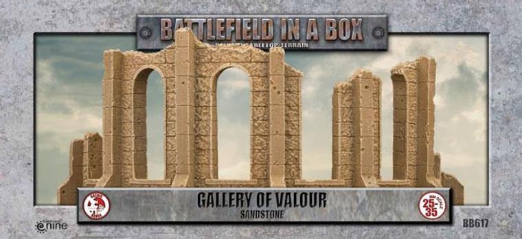 BB617 Gothic Battlefields - Gallery of Valour - Sandstone