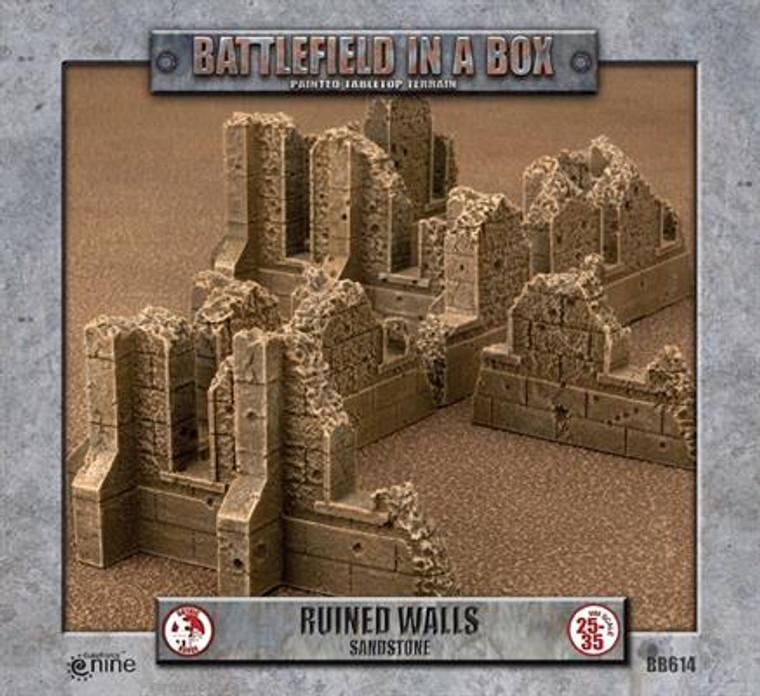 BB614 Gothic Battlefields - Walls - Sandstone
