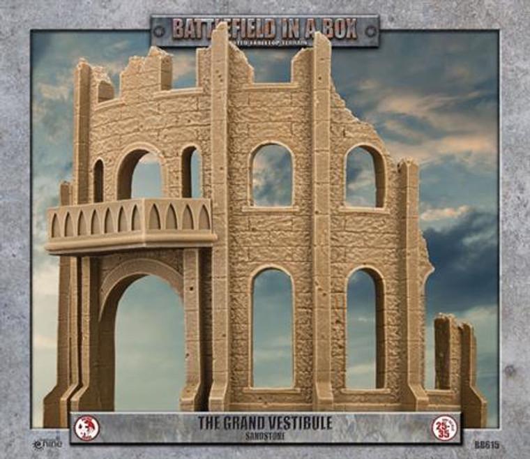 BB615 Gothic Battlefields - The Grand Vestibule - Sandstone