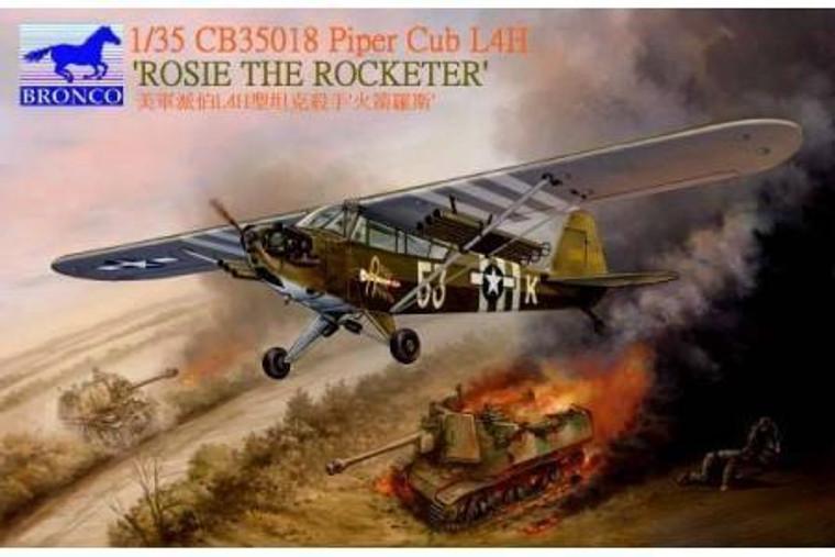 "1/35 PIPER CUB L4H ""ROSIE THE ROCKETEER"" BRONCO 35018"
