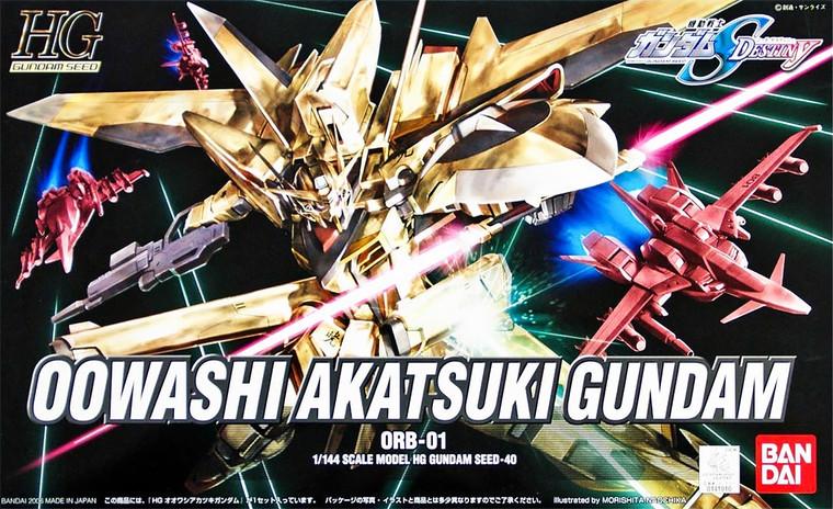 HG OOWASHI AKATSUKI GUNDAM