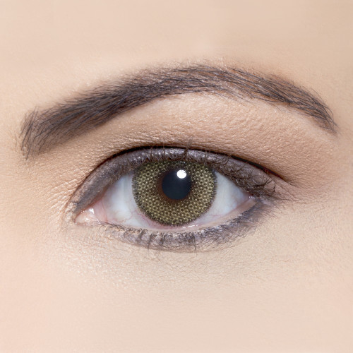 Solotica Natural Mel Honey Green - One Box Two Lenses Yearly