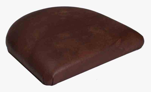 Tapered Replacement Seats in medium brown vinyl