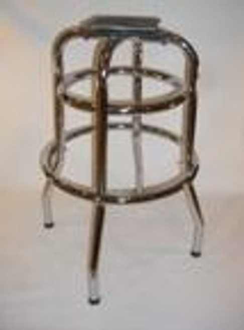 Retro Double Ring Bar Stool Base 1