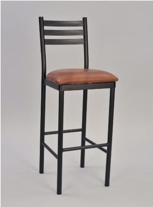 3 Ladder Round Frame Bar Stool | Seats and Stools
