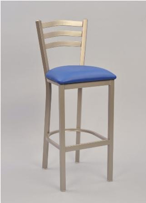 3 Ladder Square Frame Bar Stool by Seats and Stools