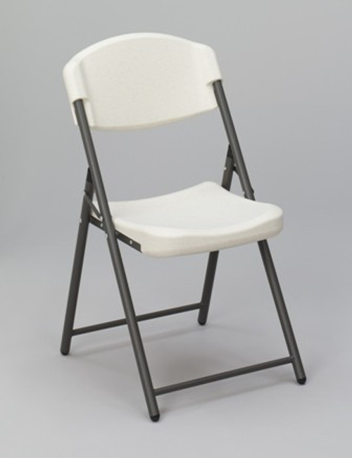 Our Iceberg Folding Chair is a convenient indoor/outdoor seating option for your home or commercial venue. Features include an oversized seat and back, 225 lbs load capacity, and non-mar plastic feet. Made with blow mold high density polyethylene, this chair is soft but firm.