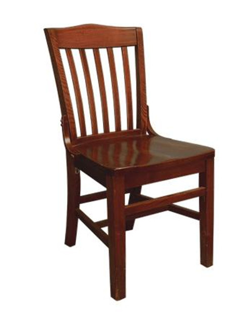 Schoolhouse Chair in Cherry wood finish.