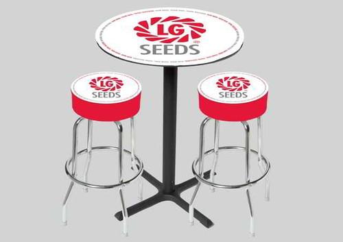 Logo Bar Stool & Table Set