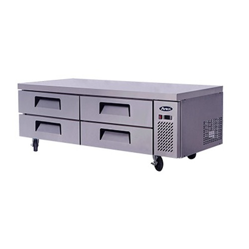 "Atosa 72"" Chef Base MGF8453 with Free Gift Card"