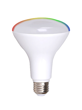 smart LED flood bulb lifestyle 1