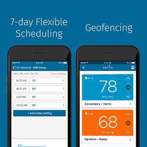 7 day flexible schedule and geofencing