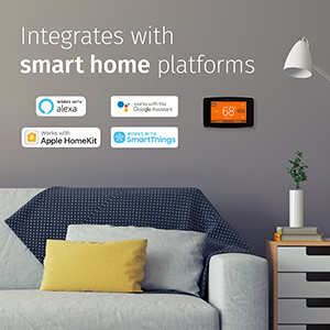 Integrates with smart home platforms