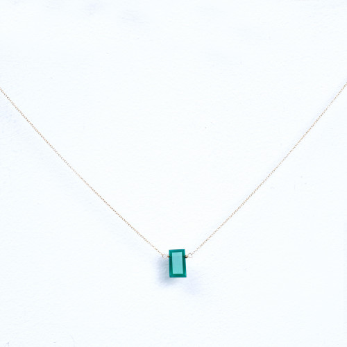 green onyx rectangle