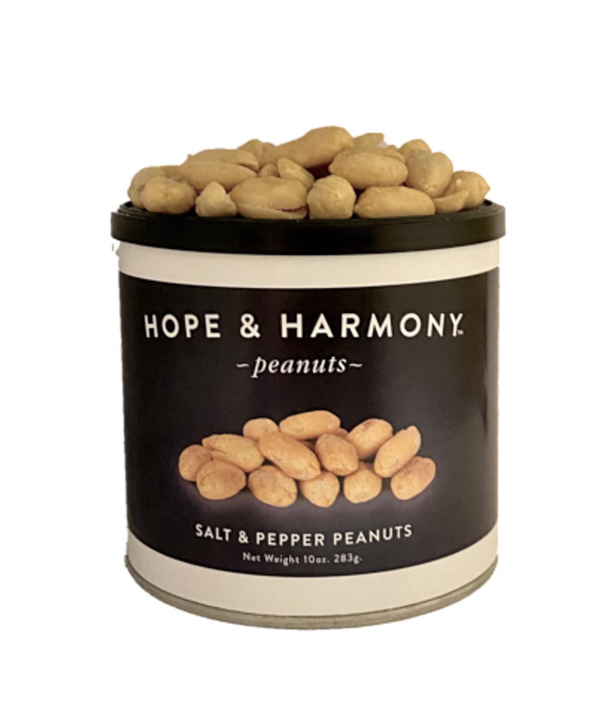 Salt & Pepper Virginia Peanuts at their best.  So simple, yet absolutely delicious!