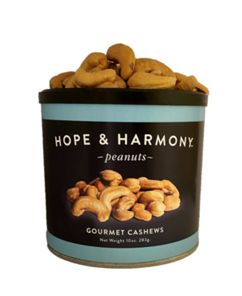 Plump, whole cashews are roasted until golden brown, then sprinkled with a dash of salt while still hot. The flavor is rich and buttery, the taste is divine!
