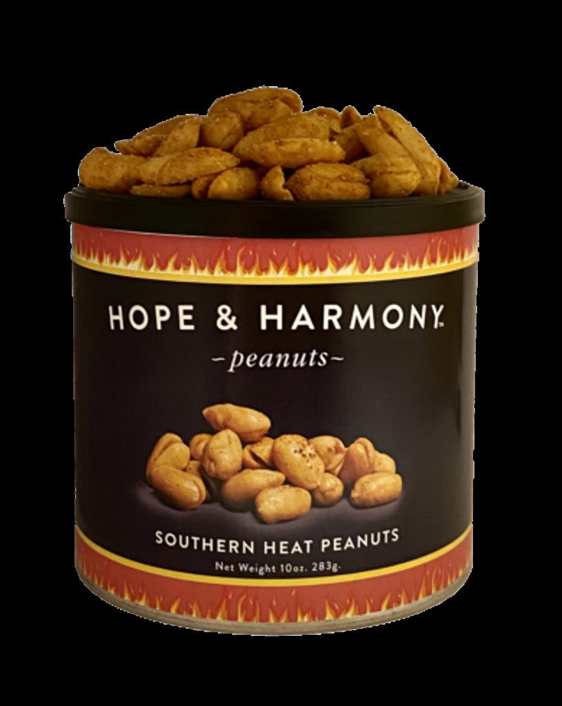 Extra large Virginia peanuts seasoned with habanero for an extra kick.   Warning:  Hot Virginia peanuts!