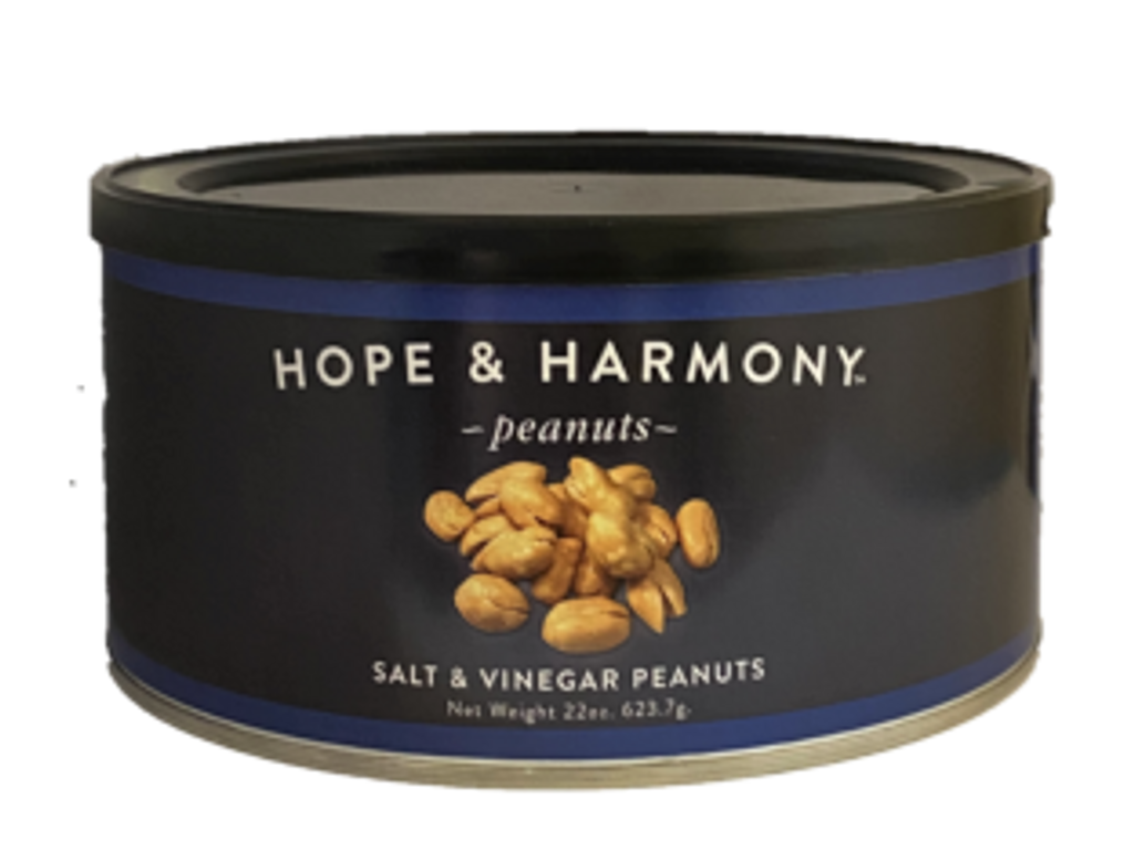 Salt and Vinegar Peanuts. They fill your palate with a bold and tangy flavor that keeps you coming back for more. Their perfect combination of salt and mouth-puckering vinegar creates a blissful sensation that bring your taste buds to life. WARNING-these are highly addictive.