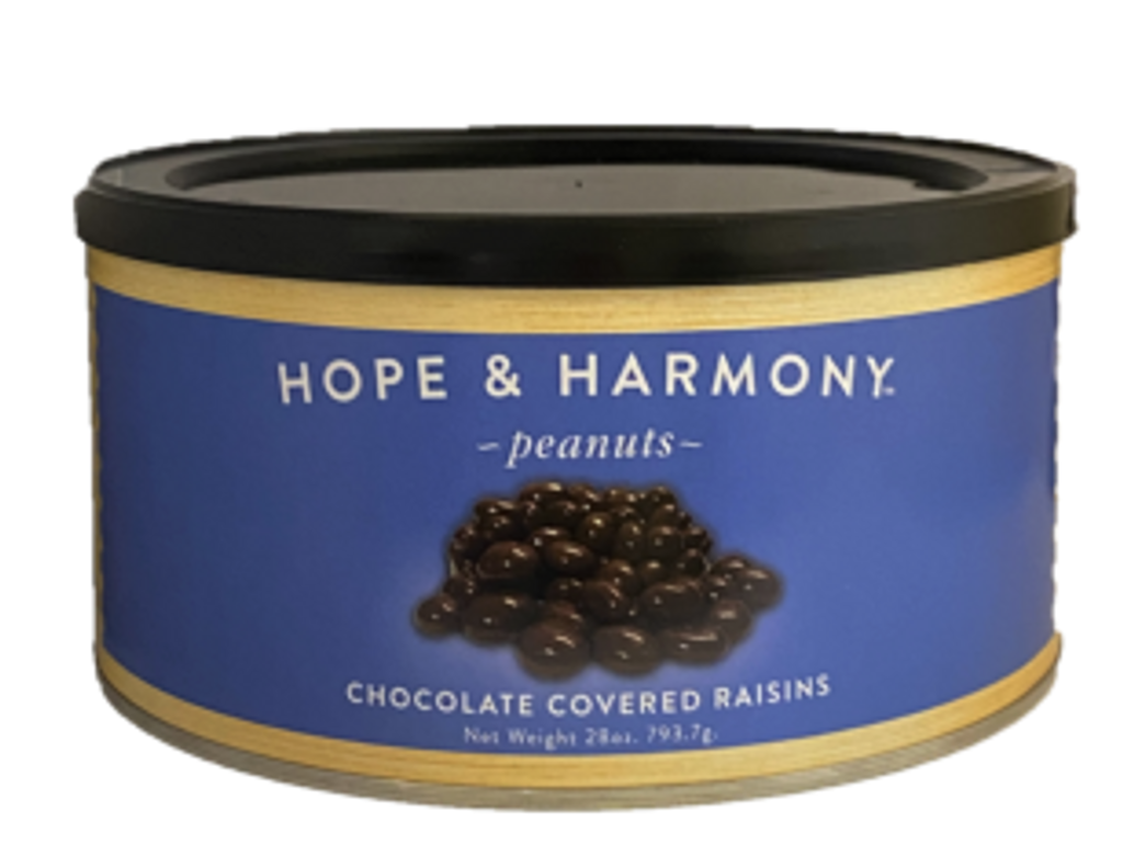 Only the plumpest, juiciest raisins are selected, then drenched in a thick, rich and creamy milk chocolate. The natural sweetness of raisins combines with the irresistible smoothness of chocolate to create this delectable duo.   Quality • Tradition • Goodness