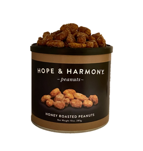 Pure amber honey coats each plump extra large Virginia peanut, to create a savory combination of a sweet and salty snack that everyone will love. Absolutely irresistible!  Happy Eating!