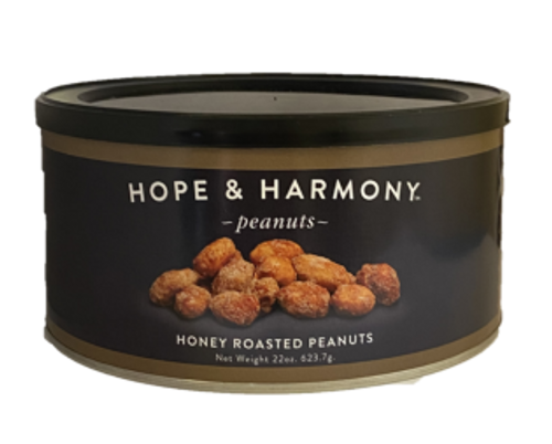 Extra large Virginia peanuts enrobed in amber honey and coated with the sweetest sugar.