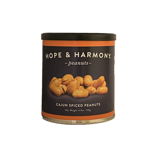 Wake up your taste-buds with a creole kick! Premium Virginia peanuts are blistered to perfection and hand-seasoned to tantalize your palate. With mouth-watering spice and subtle sweetness, each bite delivers a burst of flavor.  Our Cajun Spiced peanuts will make you feel the heat, and leave you coming back for more.