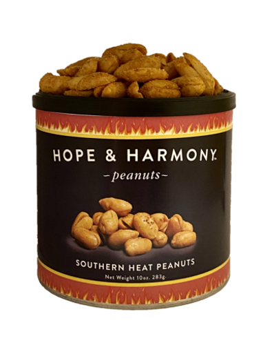 Extra large Virginia peanuts seasoned with habanero for an extra kick.   Warning:  Hot Virginia peanuts!