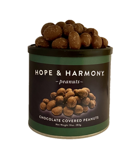A nut lover's dream come true! Freshly cooked, premium peanuts are dipped in decadent milk chocolate… and then dipped again. When it comes to sweet indulgences, our Double Dipped peanuts are twice as enticing!