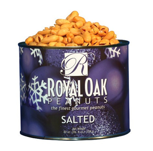 VIRGINIA PEANUTS SALTED HOLIDAY LABEL