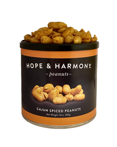 CAJUN SPICED VIRGINIA PEANUTS (3) 10 OZ.