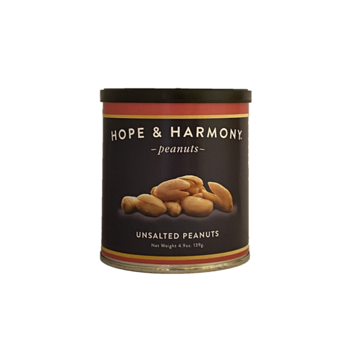 We left off the salt but NOT the flavor. The fresh roasted aroma greets your nose as you pop open the tin. These peanuts are even more perfect for healthy snacking. Happy Eating!  Quality • Tradition • Goodness