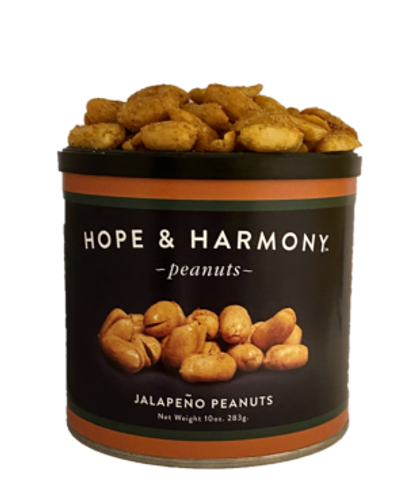 Bring the Southwest to your table with the intense flavors of our Jalapeño Peanuts!