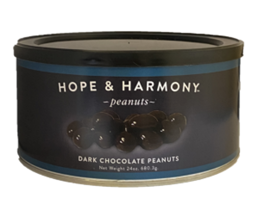 For the health-conscious chocolate lover! Fine Virginia peanuts are dipped in premium, rich dark chocolate that is loaded with natural antioxidants. So go ahead… Indulge- without the guilt!  Quality • Tradition • Goodness