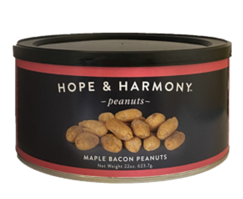 We have taken the rich sweet taste of maple syrup and combined it with the savory, smoky flavor of delicious bacon.  You'll know you are in for a treat as soon as you open the can!  Quality • Tradition • Goodness