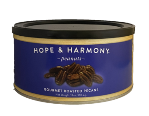 The perfect nut to enjoy by the handful or share with friends! Their careful selection and slow-roasting ensures each bite will be a delight. Known for their rich and buttery taste, our Salted and Roasted Pecans will be a satisfying addition to your gourmet recipes, and these are a must-have for Southern traditions like pecan pie and pralines!  Quality • Tradition • Goodness