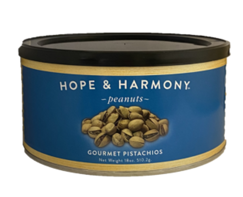 This heart healthy treat is so divine, you might forget it's actually good for you! Our Pistachios are naturally opened, then slow-roasted-in-the-shell, and finished with salt to enhance flavor. Pistachios naturally have no trans fat or cholesterol and tons of vitamins, minerals, and fiber to keep you full. A great snack option throughout the day, and a delicious, healthy topping to your favorite recipes!   Quality • Tradition • Goodness
