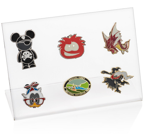 Lapel Pin Display (6 pins)