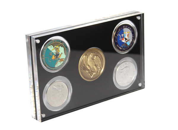 5 Coin Display
