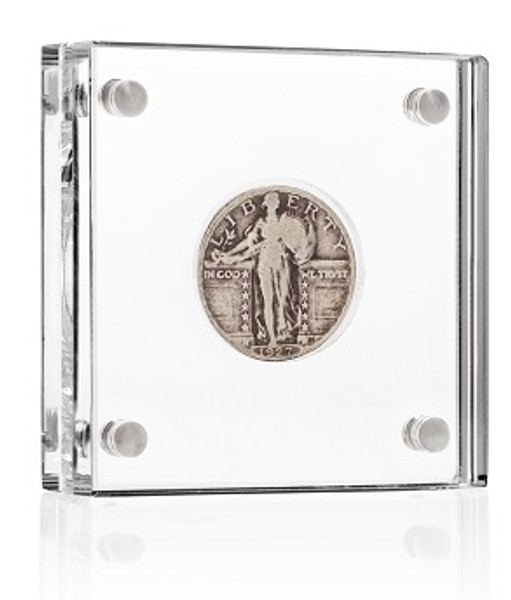 Display for small coins (25mm opening)
