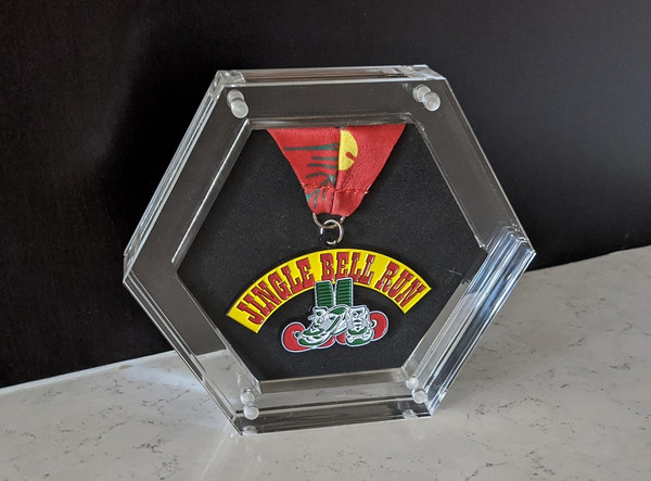 Hexablox Medal Display