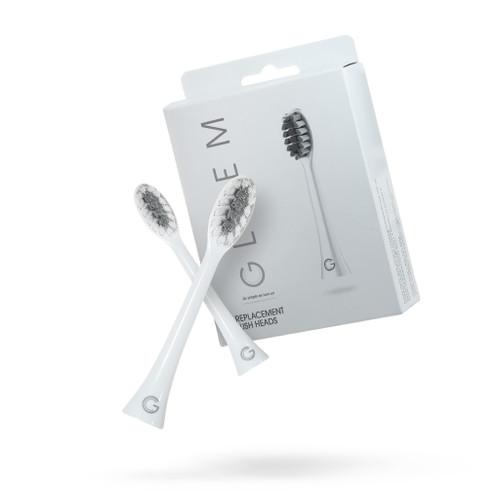 Gleem Replacement Toothbrush Head Refill 2 Pk White Gleem Com